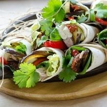 tortille zwijane z tuńczyki...