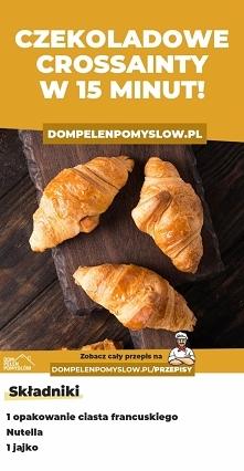 Czekoladowe croissanty w 15...