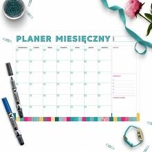 Planer miesięczny - link w ...