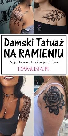 Damski Tatuaż na Ramieniu –...
