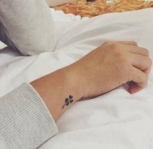 Tatuaż - koniczyna