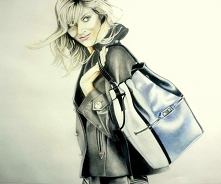 Anja,  portret wykonany w S...