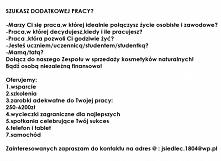 w celu poznania szczegółów zapraszam na @: jsiedlec.1804@wp.pl