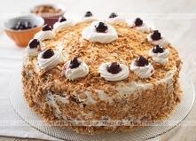 Kakaowy tort z orzechami i ...