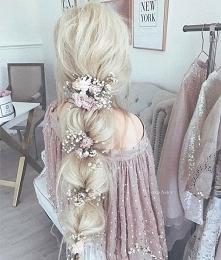 Blond, róż