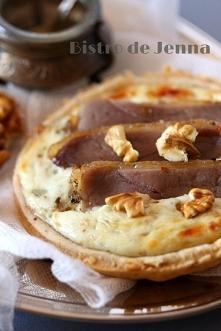 Tartelette au roquefort et ...
