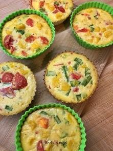 Jajeczne muffinki z warzywami