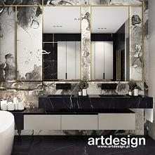 Piękna nowoczesna łazienka ...