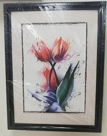 Obraz MDF tulipany