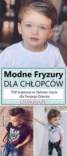 Modne Fryzury dla Chłopców – TOP Inspiracji na Stylowe Cięcia dla Twojego Dziecka