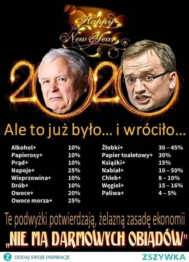 Kaczyński i spółka dziękują swoim wyborcom