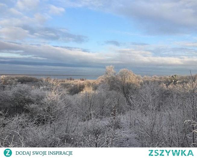zima nad Zalewem
