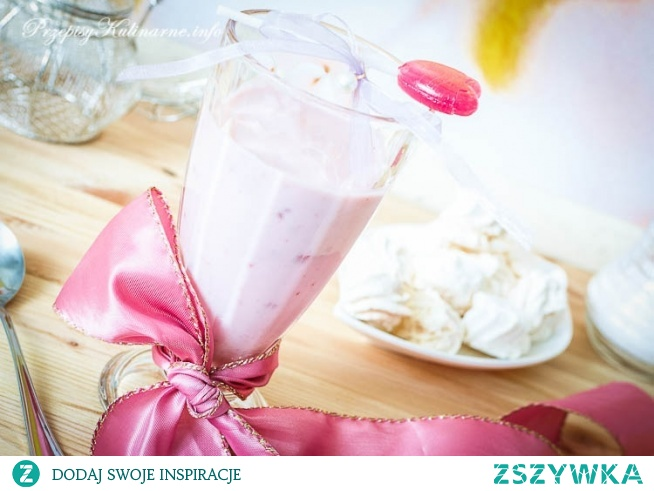 Różowy koktajl