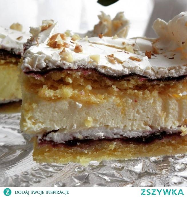 Pani Walewska Eleganckie, kremiate, delikatne, pyszne - ciasto idealne na rodzinne spotkania