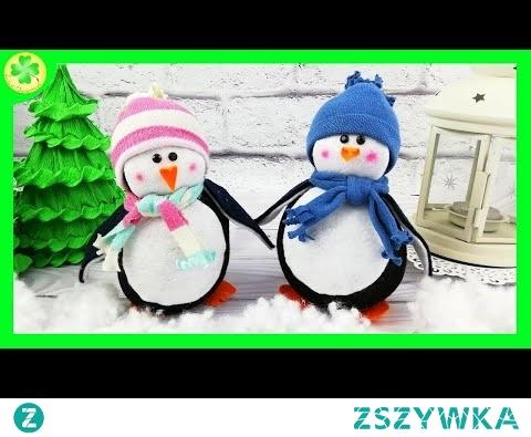 Jak zrobić: Pingwin ze Skarpetki (DIY)