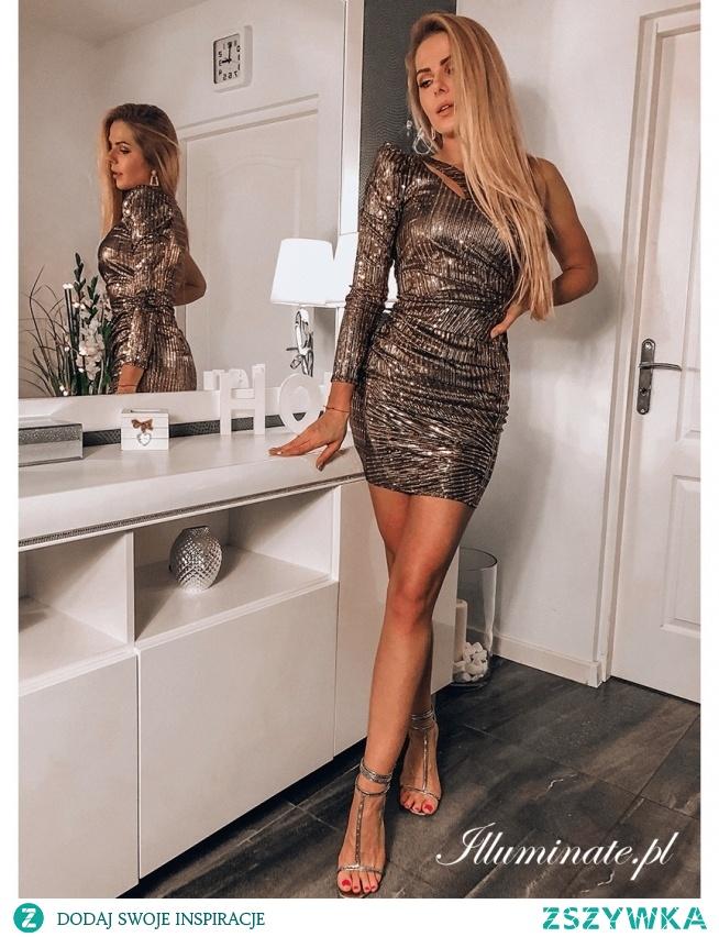 Cekinowa sukienka z kolekcji illuminate.pl <3
