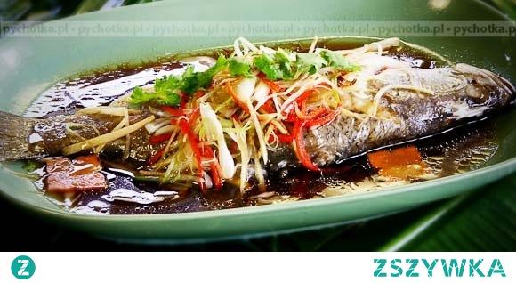 Ryba w sosie imbirowym
