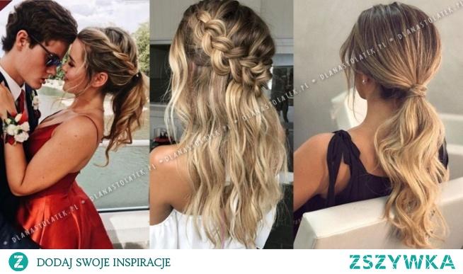 Najpiękniejsze fryzury na Studniówkę 2020