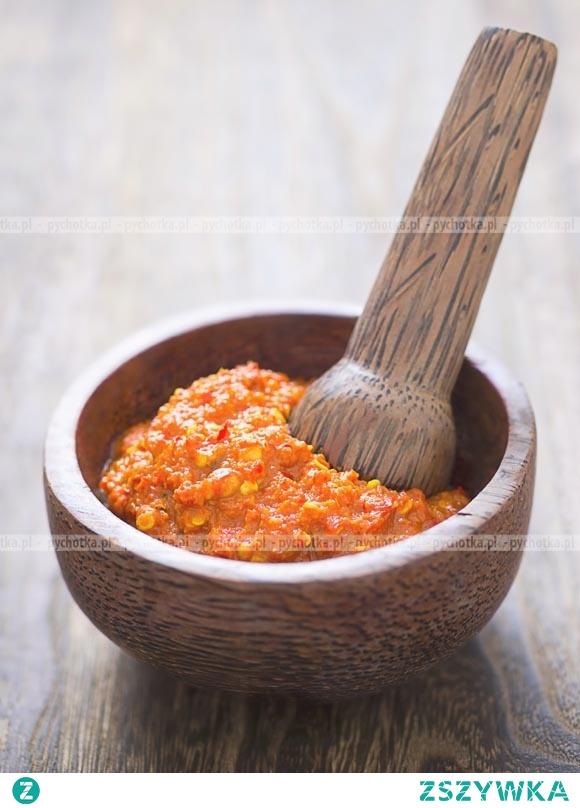 Tajska żółta pasta curry