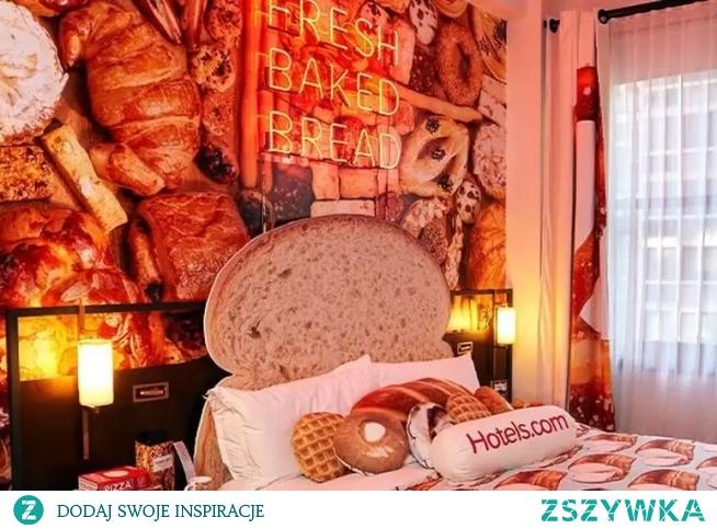 W The Refinery Hotel w Nowym Jorku powstał niezwykły pokój hotelowy. Apartament z pieczywem nosi nazwę Bread&Breakfast i można będzie w nim zanocować przez bardzo krótki czas.