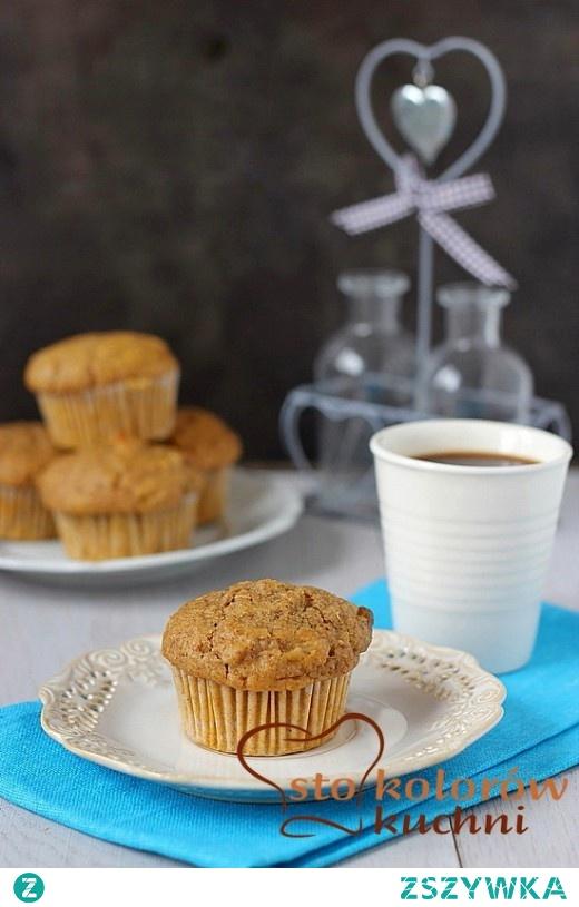muffiny dyniowe z orzechami