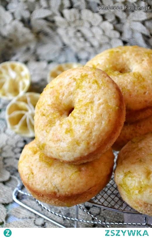 Pieczone pączki limonkowe