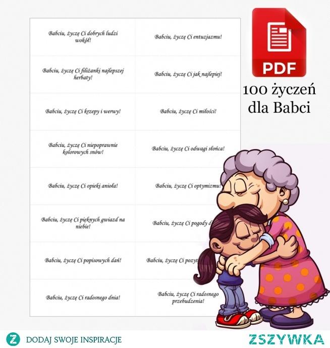 100 życzeń na Dzień Babci