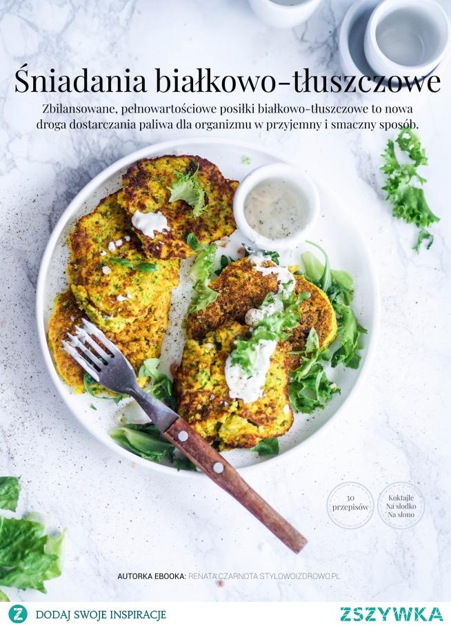 Unikalny ebook z przepisami na śniadania białkowo-tłuszczowe. 30 przepisów podzielonych na koktajle, dania na słodko oraz dania na słono. Format pliku pdf.  stylowoizdrowo.pl /produkt/ebook-sniadania-bialkowo-tluszczowe/