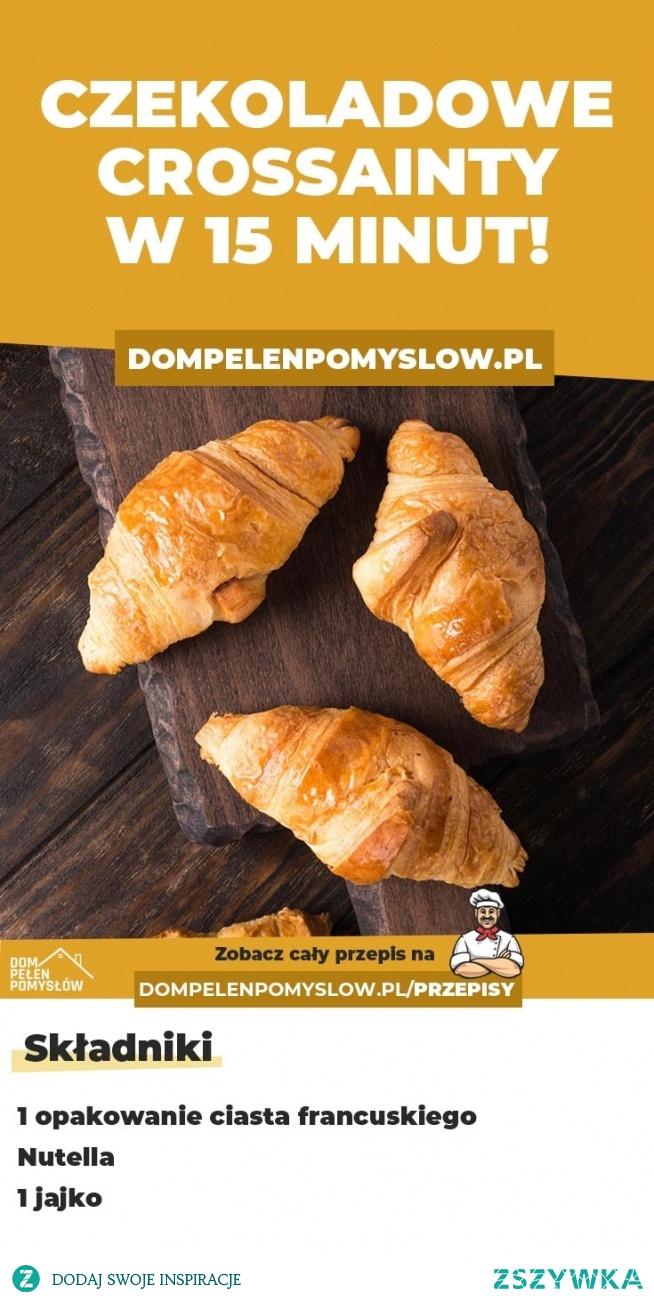 Czekoladowe croissanty w 15 minut!
