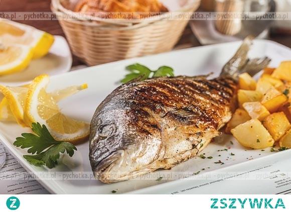 Ryba pieczona na węglach 2