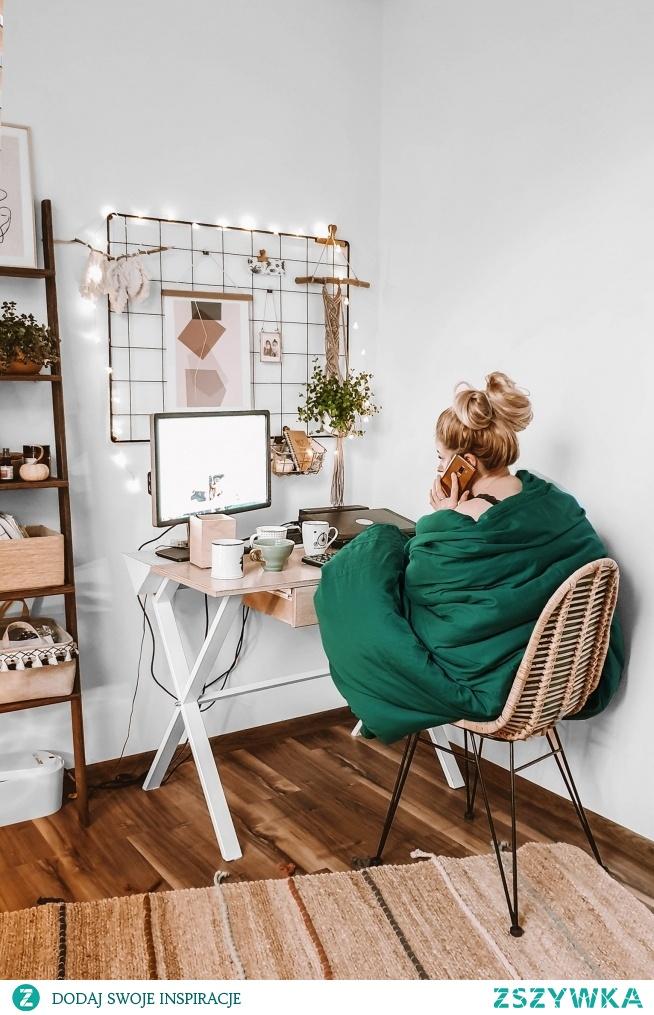 Organizer nad biurko - idealny do domowego biura :)  Organizery znajdziesz na NASZE DOMOWE PIELESZE