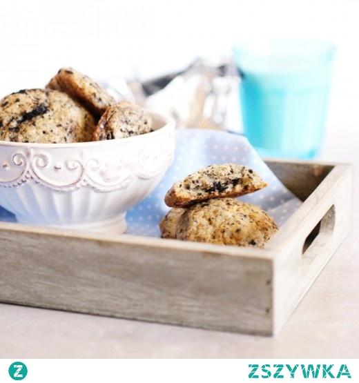 Ciasteczka sernikowe z Oreo