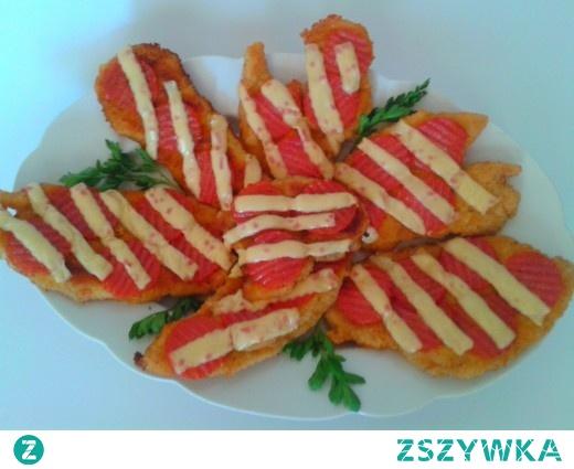 Anita Inspiruje: PRZEPIS – Filet z kurczaka zapiekany z salami chili i serem topionym