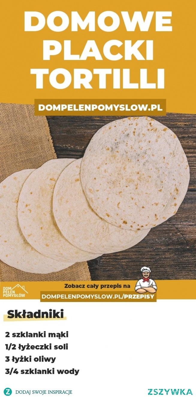Jak zrobić placki tortilli