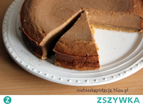 Sernik dyniowo-czekoladowy