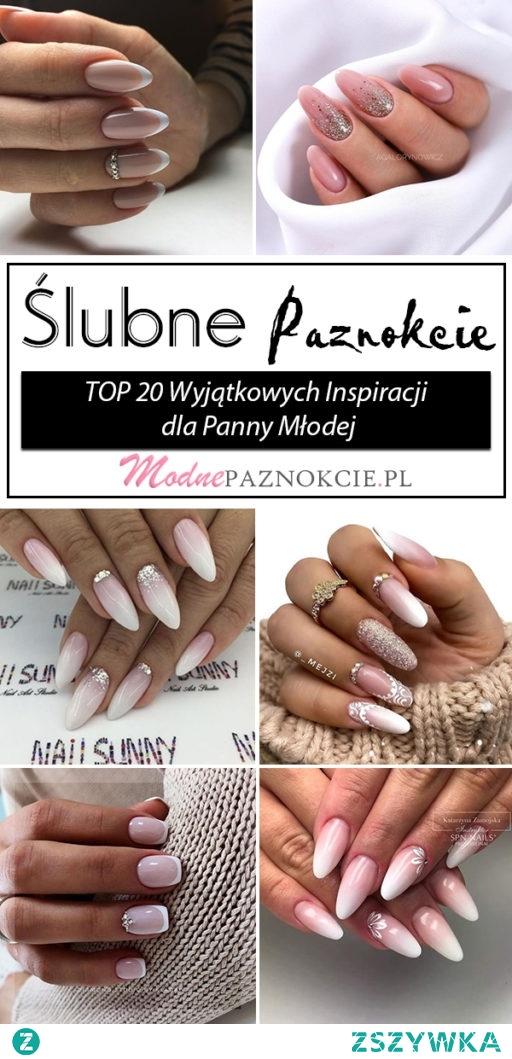 Ślubne Paznokcie – TOP 20 Wyjątkowych Inspiracji na Paznokcie dla Panny Młodej