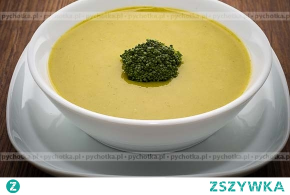 Zupa z brokułów Weroniki