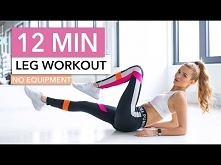 12 MIN LEG WORKOUT - Butt, ...