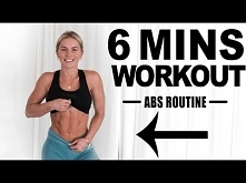 6 MINUTE AB WORKOUT!!! (no ...