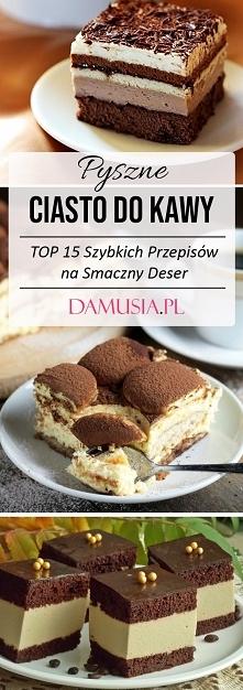 Pyszne Ciasto do Kawy – TOP...