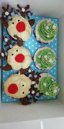 Cupcake świąteczny