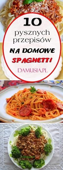 10 Pysznych Przepisów na Domowe Spaghetti