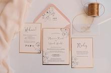 Zaproszenia ślubne złocone ...