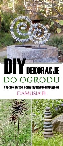 DIY Dekoracje do Ogrodu – N...