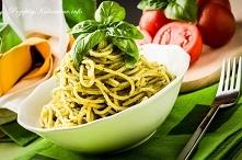 Spaghetti i pesto z pietruszki