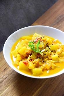 Curry kokosowe z ziemniakam...