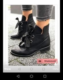 Hej Kobietki! ❤️ Wiecie może gdzie znajdę takie buty w rozmiarze 36? Przekopałam cały internet i nic...
