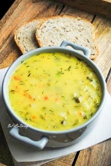Zupa z kiszonych ogórków na...