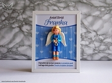 Anioł Stróż - ramka 18x24