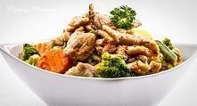 Kurczak i warzywa